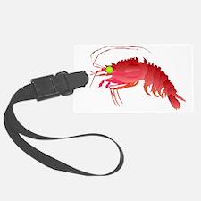Deep Sea Red Shrimp t Luggage Tag