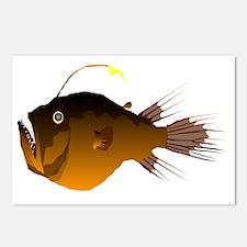 Deep Sea Anglerfish t Postcards (Package of 8)