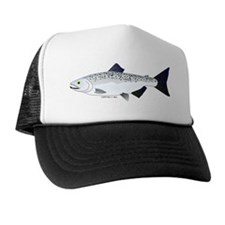 Chinook King Salmon f Trucker Hat