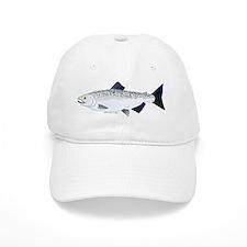 Chinook King Salmon f Baseball Baseball Cap