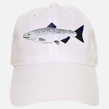 Chinook King Salmon f Baseball Baseball Cap