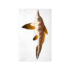 Ratfish Chimera v 3'x5' Area Rug