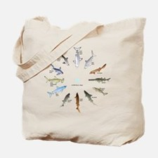 Shark Clock Two Tote Bag