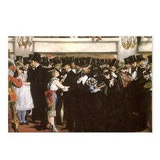 Masked Ball at the Opera  Postcards (Package of 8)