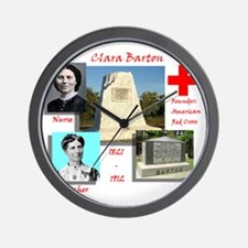 Clara Barton Wall Clock