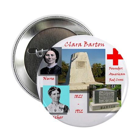 """Clara Barton 2.25"""" Button"""
