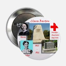 "Clara Barton 2.25"" Button"