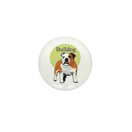 Bulldog Title Mini Button