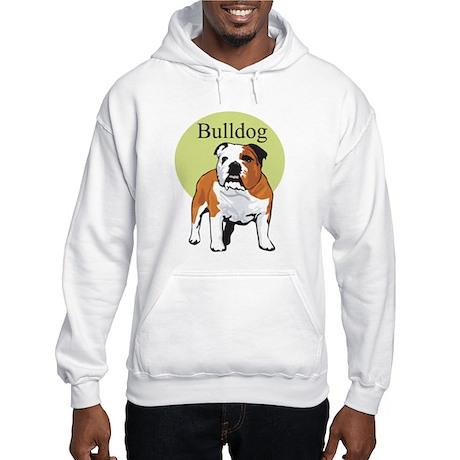 Bulldog Title Hooded Sweatshirt