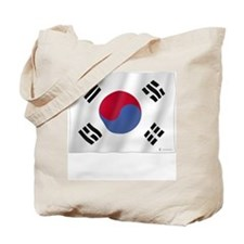 Pure Flag of Korea Tote Bag
