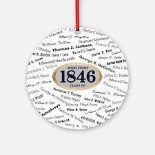 West Point - 1846 Round Ornament