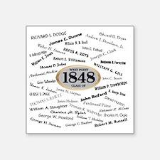 "West Point - 1848 Square Sticker 3"" x 3"""