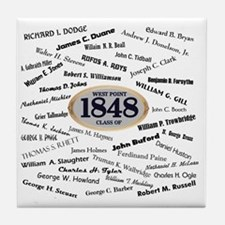 West Point - 1848 Tile Coaster
