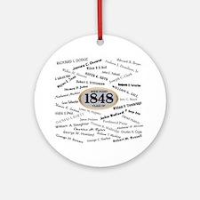 West Point - 1848 Round Ornament
