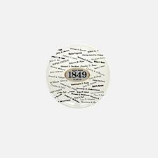 West Point - 1849 Mini Button