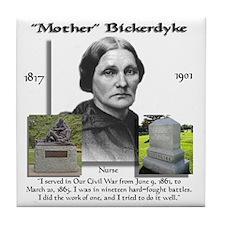 Mother_Bickerdyke Tile Coaster