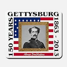 Abner Doubleday - Gettysburg Mousepad