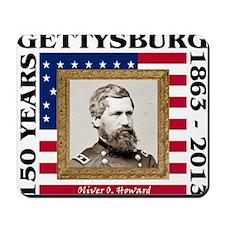 Oliver O. Howard - Gettysburg Mousepad