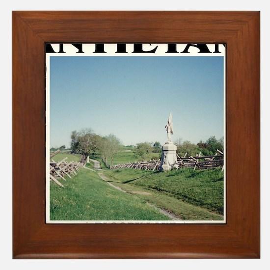 Bloody Lane - Antietam (1862-2012) Framed Tile