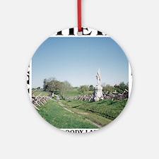 Bloody Lane - Antietam (1862-2012) Round Ornament
