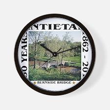 Burnside Bridge - Antietam (1862-2012) Wall Clock