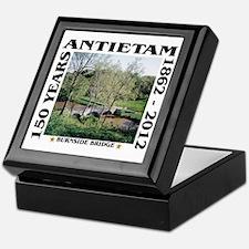 Burnside Bridge - Antietam (1862-2012 Keepsake Box
