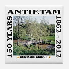 Burnside Bridge - Antietam (1862-2012 Tile Coaster