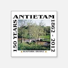 """Burnside Bridge - Antietam  Square Sticker 3"""" x 3"""""""