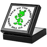 Talk To The Hand Alien Keepsake Box
