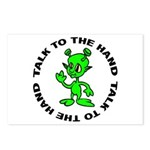 Talk To The Hand Alien Postcards (Package of 8)