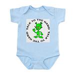 Talk To The Hand Alien Infant Bodysuit