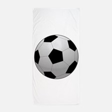 Soccer Ball Beach Towel
