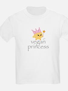 Vegan Princess Kids T-Shirt
