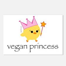 Vegan Princess Postcards (Package of 8)