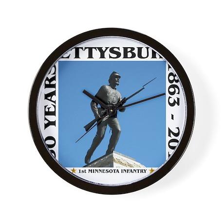 Gettysburg - 1st Minnesota Infantry Wall Clock