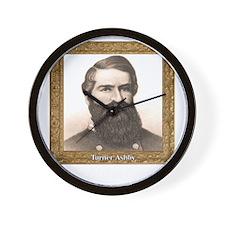Black Knight of the Confederacy - Ashby Wall Clock