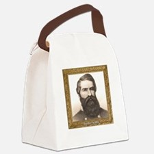 Black Knight of the Confederacy - Canvas Lunch Bag