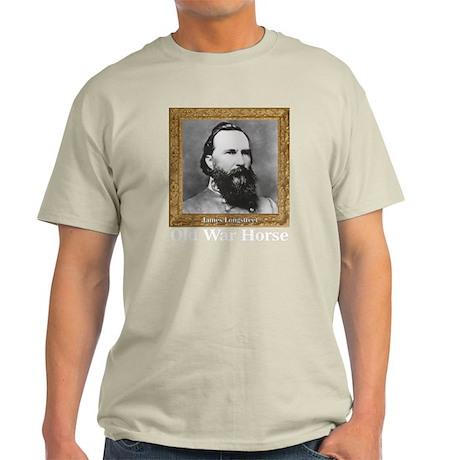 Old War Horse - Longstreet Light T-Shirt