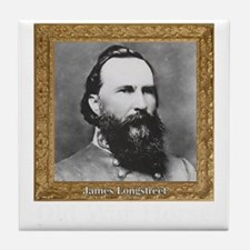 Old War Horse - Longstreet Tile Coaster