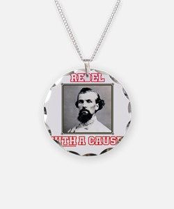 Rebel With a Cause - Forrest Necklace Circle Charm