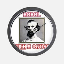 Rebel With a Cause - Forrest Wall Clock