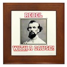 Rebel With a Cause - Forrest Framed Tile
