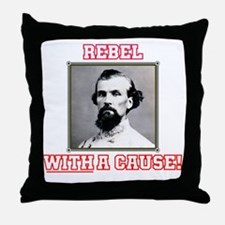 Rebel With a Cause - Forrest Throw Pillow
