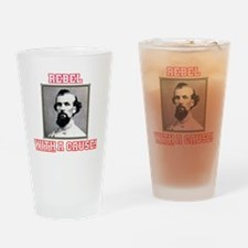 Rebel With a Cause - Forrest Drinking Glass