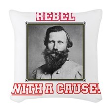Rebel With a Cause - Stuart Woven Throw Pillow