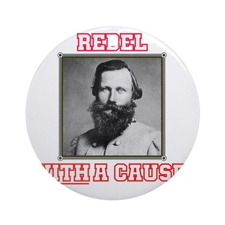 Rebel With a Cause - Stuart Round Ornament