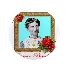 """Clara Barton - Nurse 3.5"""" Button"""