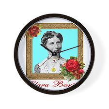 Clara Barton - Nurse Wall Clock