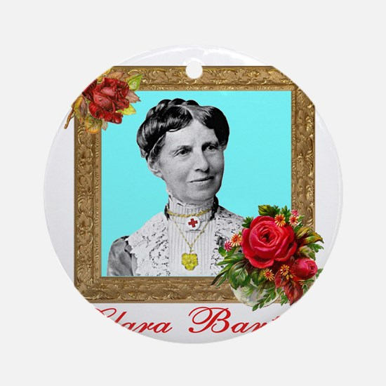 Clara Barton - Nurse Round Ornament
