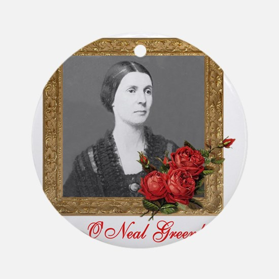 Rose ONeal Greenhow Round Ornament
